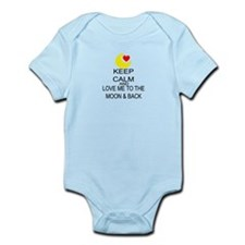 Keep Calm And Love Me To The Moon & Back Infant Bo