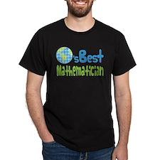 Earths Best Mathematician T-Shirt