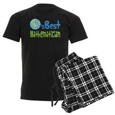 Earths Best Mathematician Pajamas