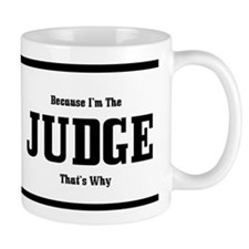Judge Coffee Mug