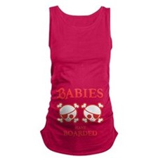twins-boarded-T.png Maternity Tank Top