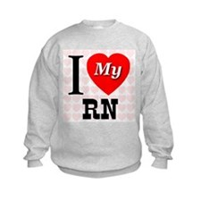 I Love My RN Sweatshirt