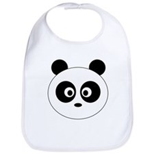 Cute Panda bears Bib