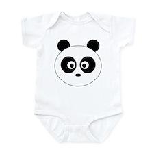 Panda Head: Infant Bodysuit