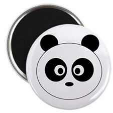 Panda Head: Magnet