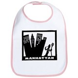 Retro Manhattan Bib