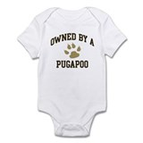 Pugapoo: Owned Infant Bodysuit