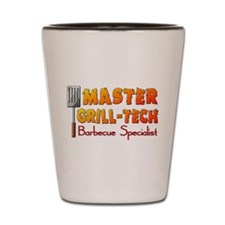 Master Grill Tech Barbecue Specialist Shot Glass