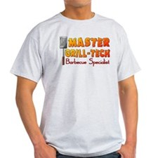 Master Grill Tech Barbecue Specialist T-Shirt