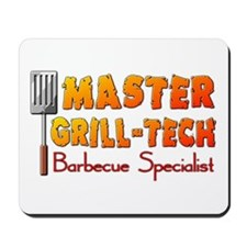 Master Grill Tech Barbecue Specialist Mousepad