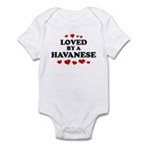 Loved: Havanese Infant Bodysuit
