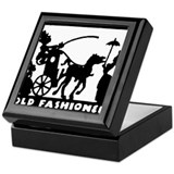 retro Old Fashioned Keepsake Box