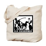 retro Old Fashioned Tote Bag