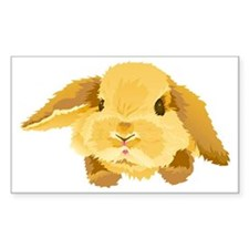 Lop Eared Bunny Decal