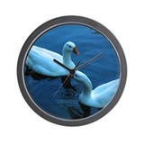 Twilight Geese Wall Clock