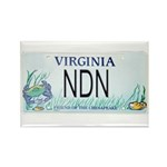 Virginia NDN Pride Rectangle Magnet (100 pack)