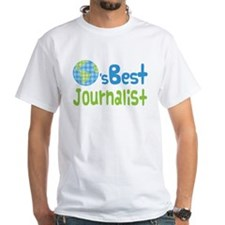 Earths Best Journalist Shirt