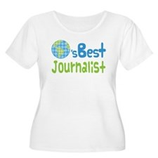 Earths Best Journalist T-Shirt