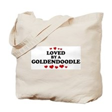 Loved: Goldendoodle Tote Bag