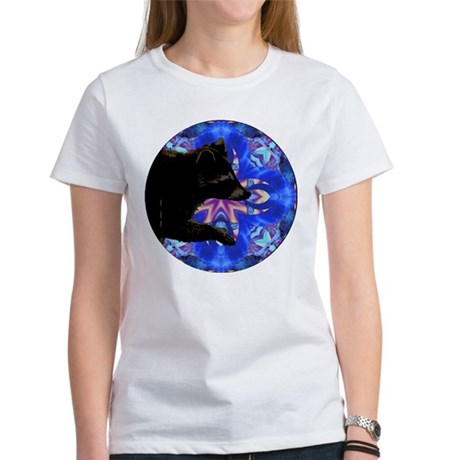 Racoon Kaleidoscope Women's T-Shirt