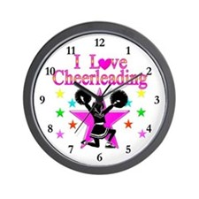 CHEERING CHICK Wall Clock