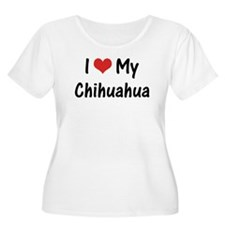 I Heart My Chihuahua T-Shirt