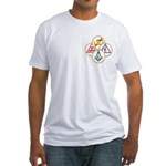 Circles of the York Rite Masons Fitted T-Shirt