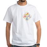 Circles of the York Rite Masons White T-Shirt