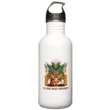 Mardi Gras Witch Doctor 4 Water Bottle