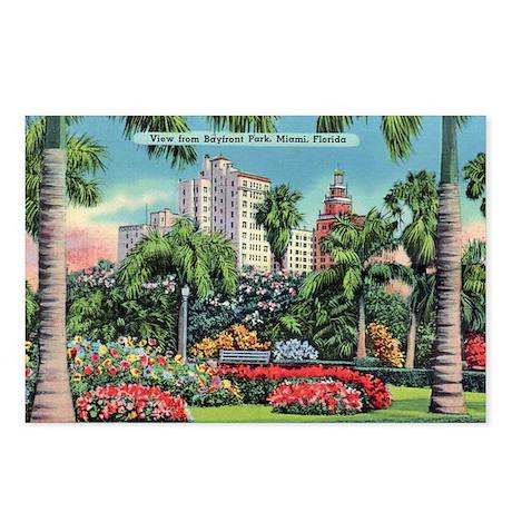 Bayfront Park Miami Florida Postcards
