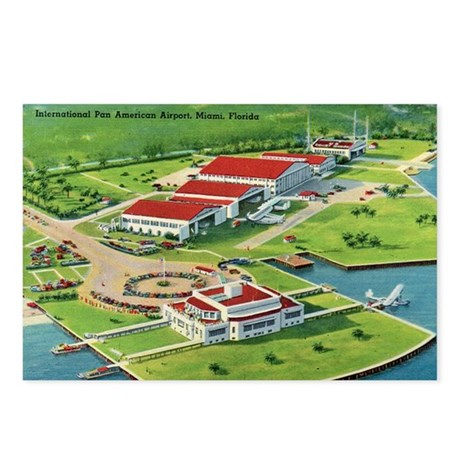 Miami Florida Airport Postcards
