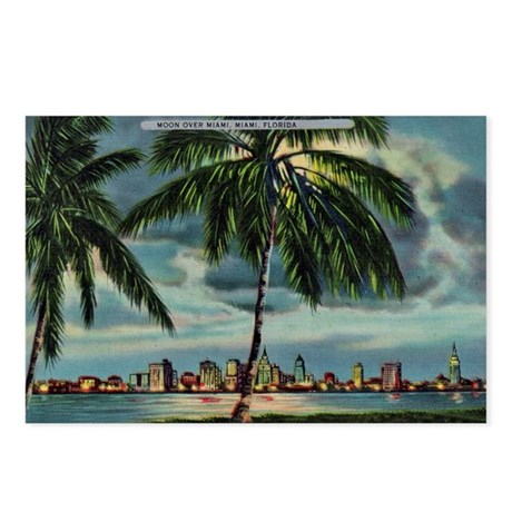 Miami Florida Skyline Postcards