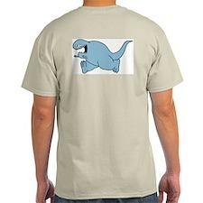 Todd Chasing Ash Grey T-Shirt
