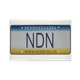 Pennsylvania NDN Pride Rectangle Magnet (100 pack)