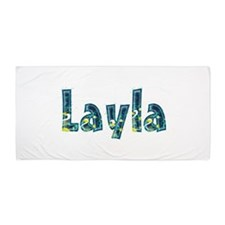 Layla Under Sea Beach Towel