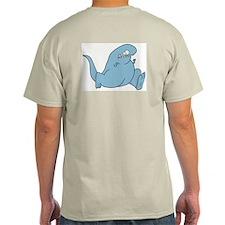 Todd Running Ash Grey T-Shirt