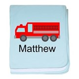 Fire truck personalized Blanket