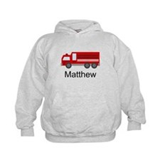 Personalized Fire Truck Hoodie