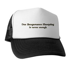 Bergamasco Sheepdog Trucker Hat