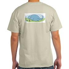 Todd Playing Ash Grey T-Shirt