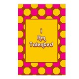 I Am Talented Postcards (Package of 8)