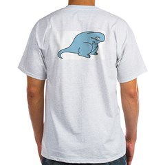 Sad Todd Ash Grey T-Shirt