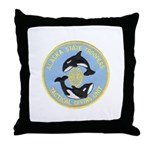 Alaska Police Dive Unit Throw Pillow