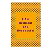 I Am Brillant Postcards (Package of 8)