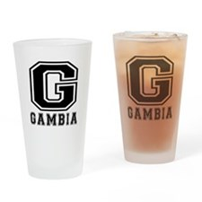 Gambia Designs Drinking Glass