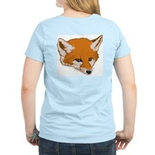 Fox Women's Pink T-Shirt