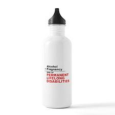 FASD Awareness- Lifelong Disabilities Water Bottle