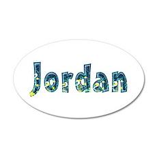 Jordan Under Sea 20x12 Oval Wall Decal