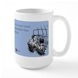 Dependable Than Alcohol Mug