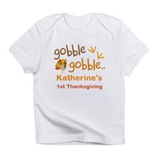 Personalized 1st Thanksgiving Turkey Infant T-Shir